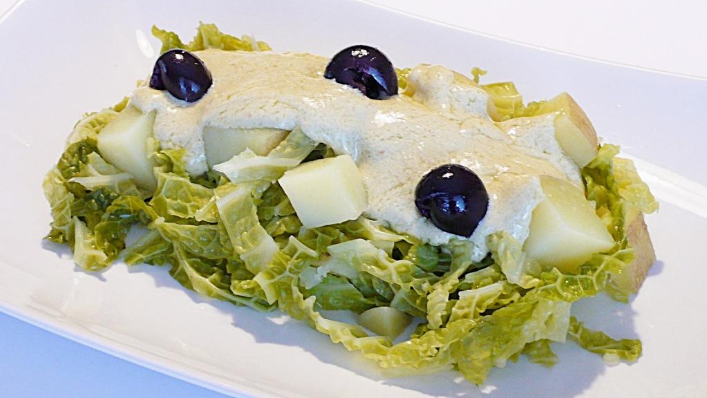 foto by Paolo Cavacece - Verza e Patate con Maionese di Tahin