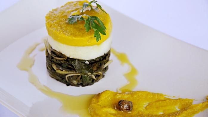 foto by Paolo Cavacece - Maionese di brodo Vegetale con Cicoria e Patate