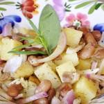 Fagioli e Patate al Vapore