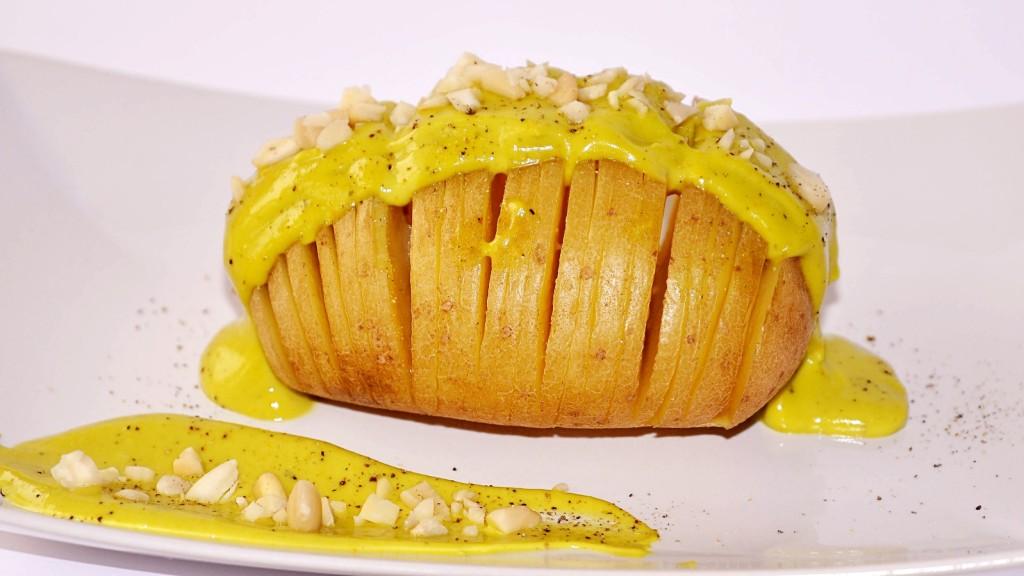 foto by Paolo Cavacece - Patata Hasselback con Maionese di Avocado