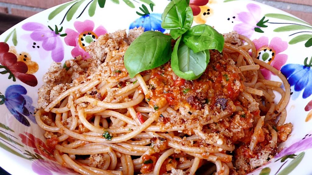 """foto by Paolo Cavacece - """"Spaghettino"""" al Pesto Trapanese"""