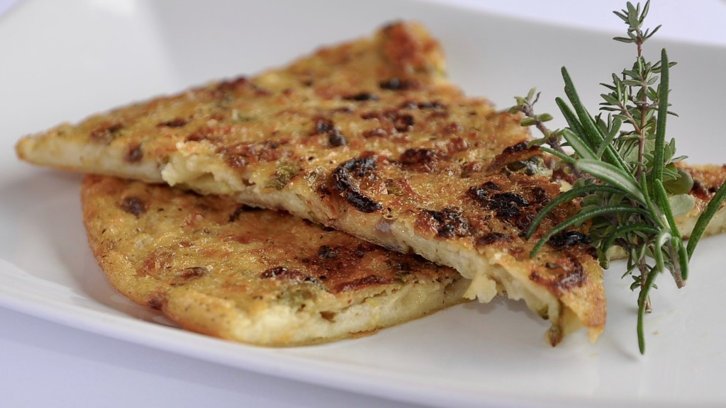 Farinata con Zucchine e Cipolla di Tropea