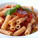 Maccheroni senza Glutine con Pomodoro Grigliato
