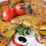 Frittata Vegan con Carciofi e Cipollotti