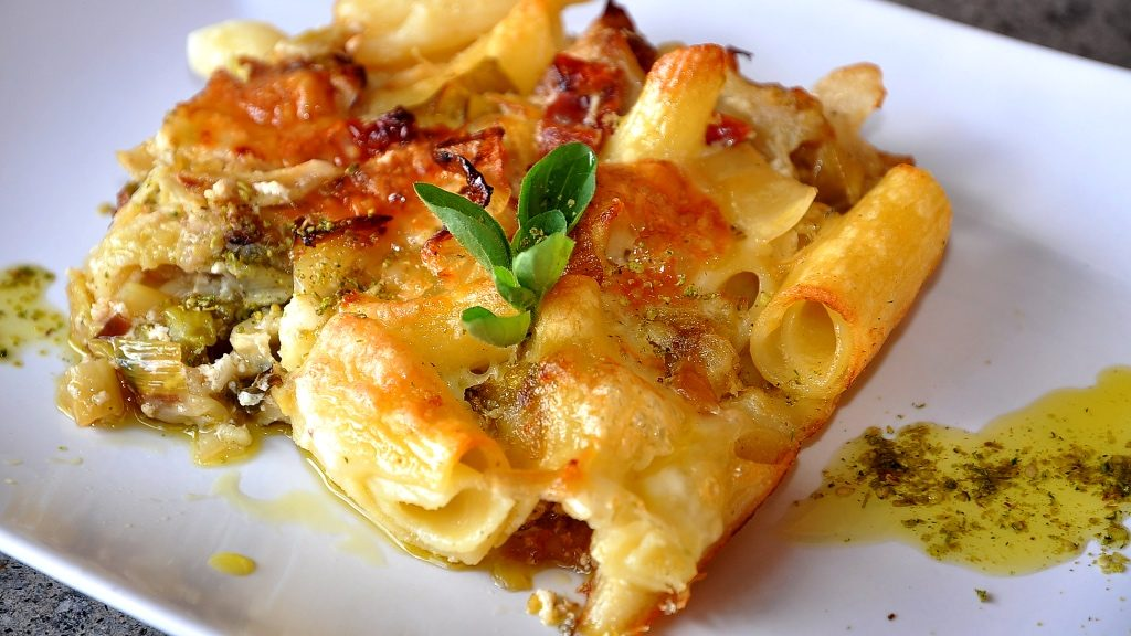foto by Paolo Cavacece - Pasta senza Glutine al Forno con Verza e Porri