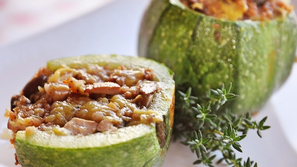 Zucchine Tonde Vegan