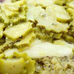 Polenta Taragna con Zucchine