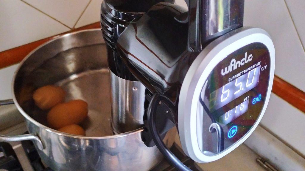 Cottura Uova a Bassa Temperatura