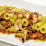 Pasta con Polpo e Zucchine allo Zabaione Profumato