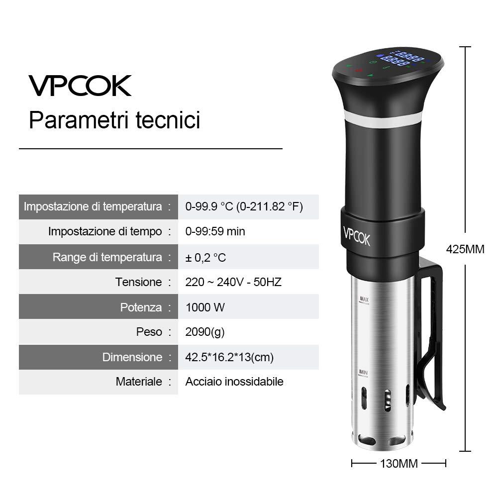 VPCOK per Cottura a Bassa Temperatura