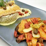 Salmone Selvaggio con Riso Basmati e Verdure