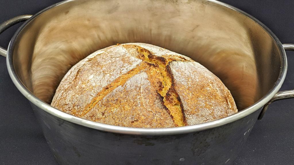 Cottura in Tegame del Pane di Grano Duro